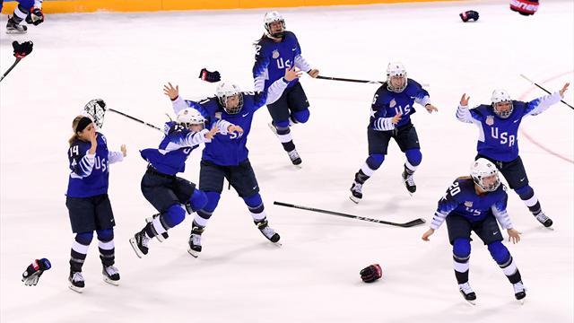 Le Canada était invaincu depuis 24 matches aux Jeux... et les Etats-Unis sont passés par là