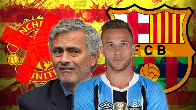 Euro Papers: Barca shut the door on Man United in Arthur transfer battle