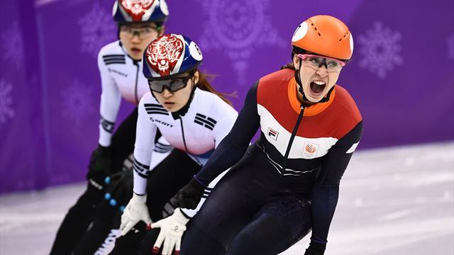 Олимпийской чемпионкой вшорт-треке надистанции 1 000 мстала голландка Схултинг