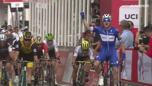 Tour Abu Dhabi 2018: 'Cavallino Rampante' Viviani