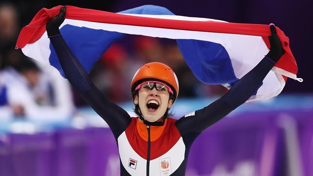 Hollanda'nın kısa kulvarda ilk altını Suzanne Schulting'den