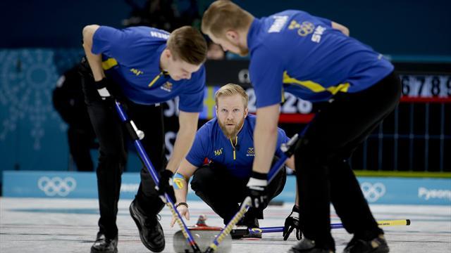 Sveriges curlingherrer til OL-finale
