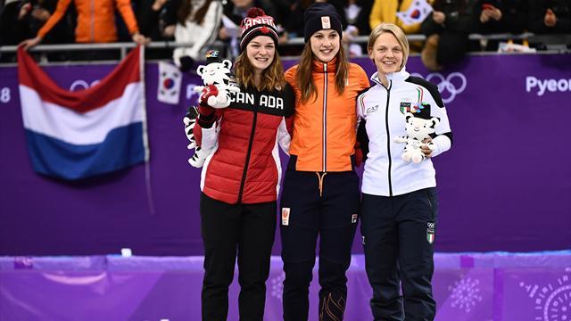 Choi rate le triplé sur 1000m, la Néerlandaise Schulting en or