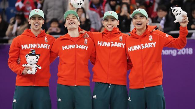 Premier titre aux Jeux d'hiver pour la Hongrie