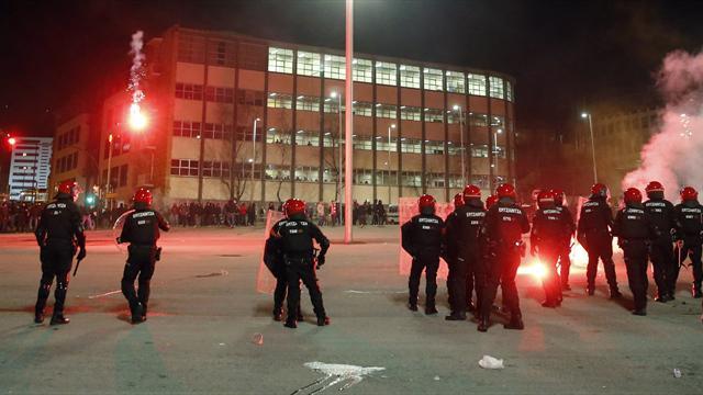 Los incidentes previos al Athletic-Spartak
