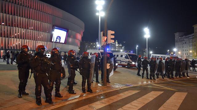 Un policier meurt après des violences entre supporters à Bilbao