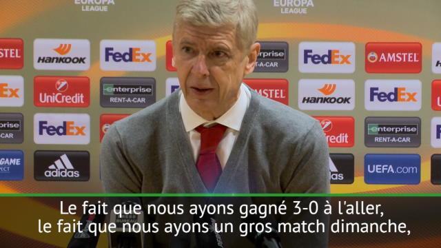 """16es - Wenger : """"Nous n'étions pas au niveau"""""""