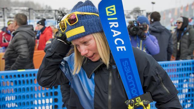"""Näslund i tårar efter medaljmissen: """"Inte rent spel"""""""