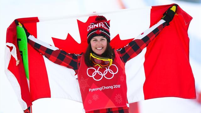 Канадки взяли золото и серебро в ски-кроссе