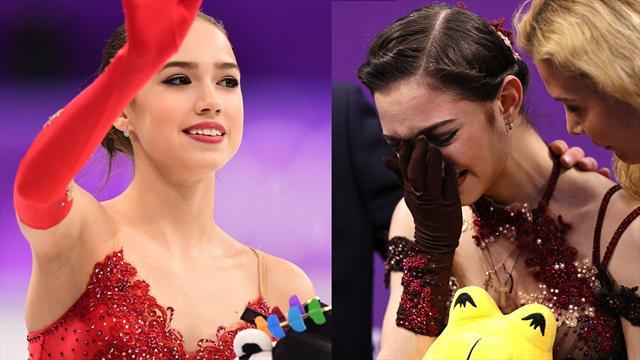 Zagitova edges Medvedeva in Russian battle for figure skating gold