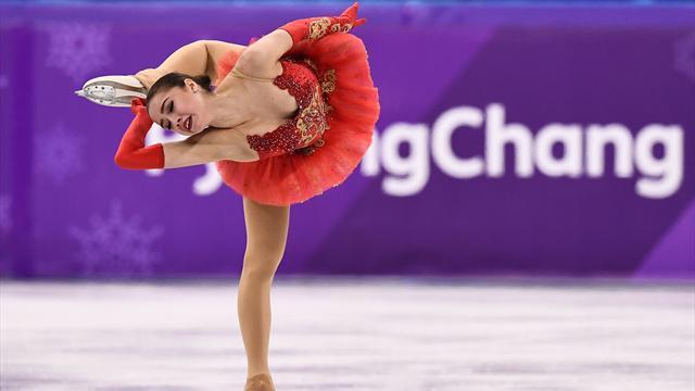 Zagitova, 15 ans, première médaille d'or de la Russie sous bannière olympique