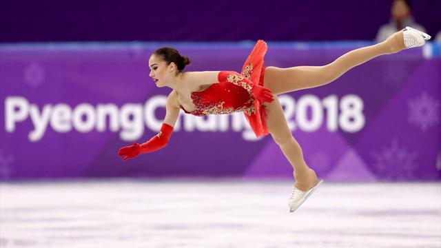 Genç sporcu Zagitova'dan olimpiyat altını
