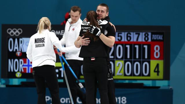 Norway curlers to get Russia's doubles bronze in Pyeongchang