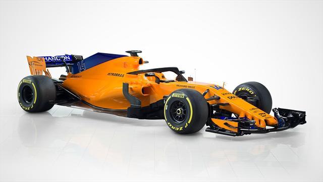 moteur renault couleur orange papaye la nouvelle mclaren mcl33 se d voile saison 2018. Black Bedroom Furniture Sets. Home Design Ideas