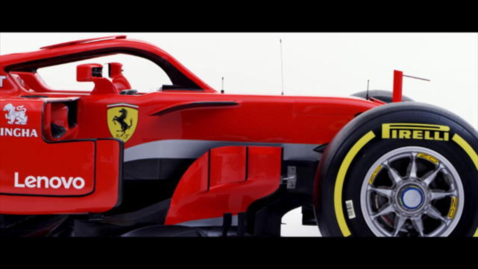 vid o f1 ferrari pr sente son nouveau bolide video eurosport. Black Bedroom Furniture Sets. Home Design Ideas