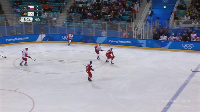Hockey su ghiaccio: Russia-Repubblica Ceca 3-0, gli highlights