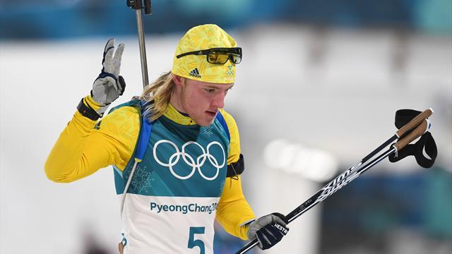 Швеция выиграла мужскую эстафету