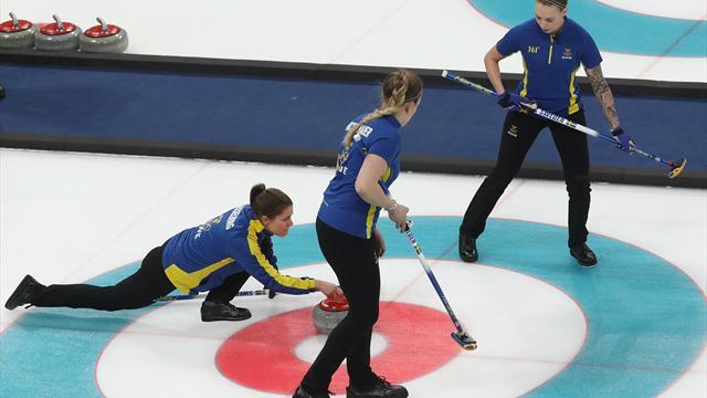 Schweden und Südkorea spielen um Curling-Gold der Frauen