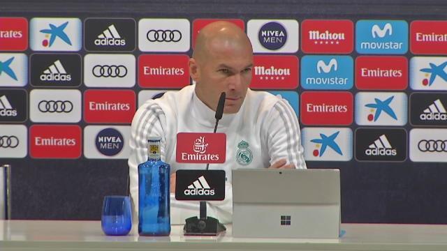 "Zidane : ""On prendra toujours des buts"""
