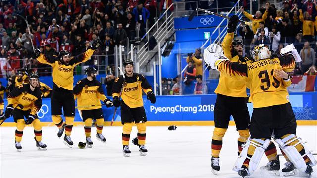 Tyskland slog ut Kanada på vägen till historisk första OS-final