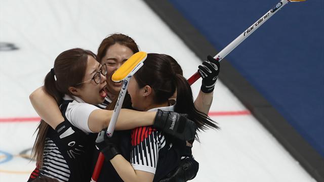 """La """"Team Kim"""" sud-coréenne créé l'exploit et jouera la finale contre la Suède"""