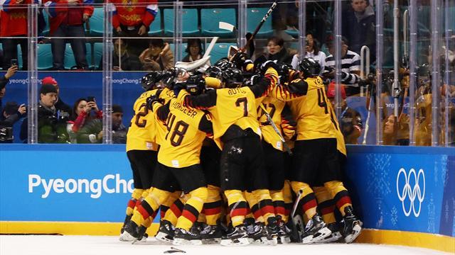 Miracolo sul ghiaccio coreano: Germania batte Canada 4-3 contro ogni logica