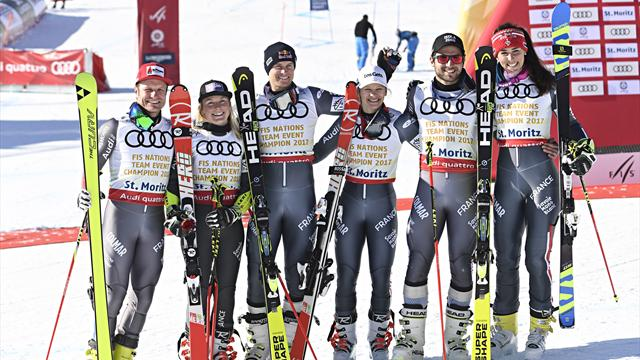 JO 2018. Pas de nouvelle médaille pour la France, 4e de l'épreuve par équipe en ski Alpin