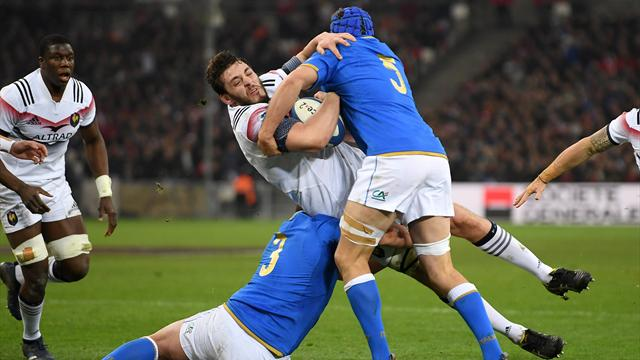 France beat Italy in Six Nations to end winless streak