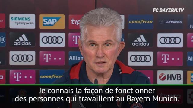"Heynckes : ""Lewandowski ? Le Bayern n'est pas vendeur"""