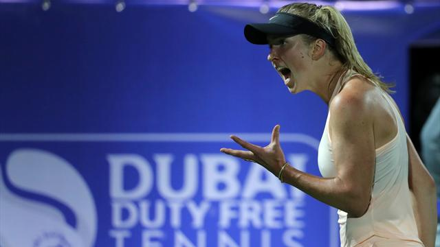 Svitolina defeats Kerber to remain on course to defend Dubai title