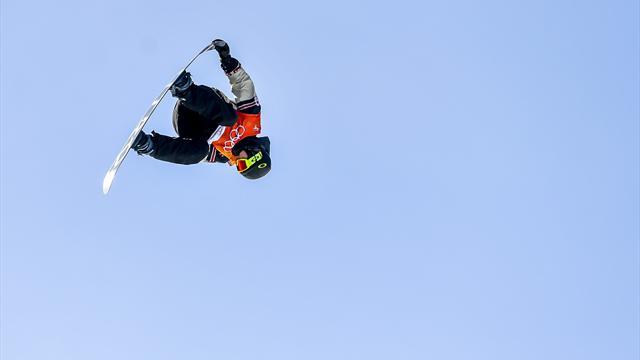 Erkekler big air snowboardda ilk olimpiyat altını Toutant'ın
