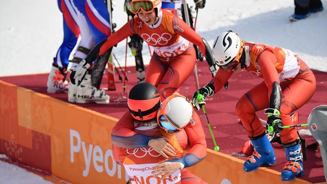 Tok historisk alpintmedalje – nå har Norge levert tidenes vinter-OL: – Veldig, veldig stolt