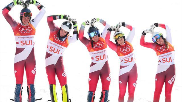 Mit Video | Schweiz feiert Team-Gold, Deutschland ohne Medaille
