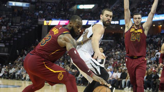 Los Spurs se curan las heridas con los Cavs