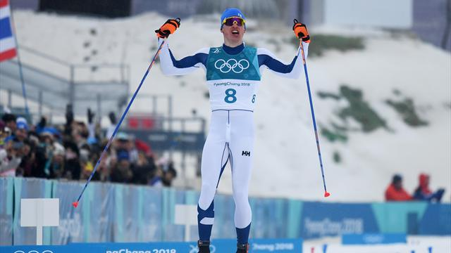 Niskanen perseveres to beat Bolshunov to cross-country 50km gold