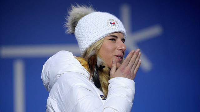 """Ledecka : """"Beaucoup m'ont dit qu'il n'était pas possible d'arriver au sommet dans les deux sports"""""""