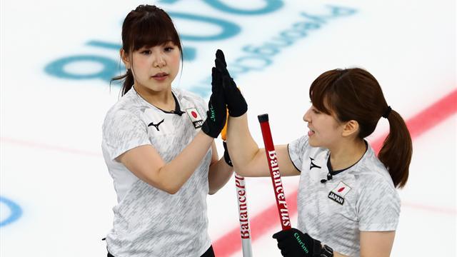 Japans Damen curlen sich zu Bronze
