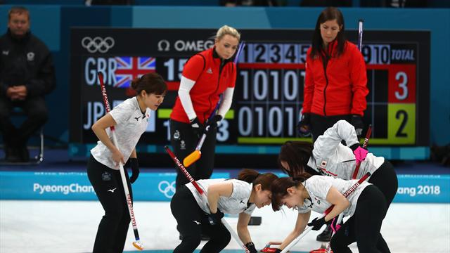 Britain's curlers end up empty-handed after Japan edge bronze match
