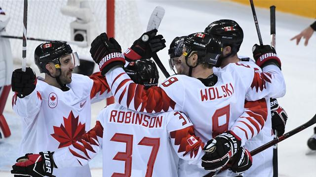 Canadian men beat Czechs to claim ice hockey bronze