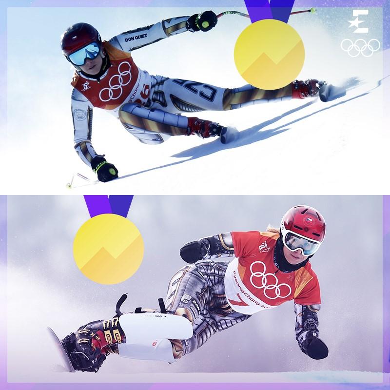 Ester Ledecka, doppio oro in sci alpino e snowboard