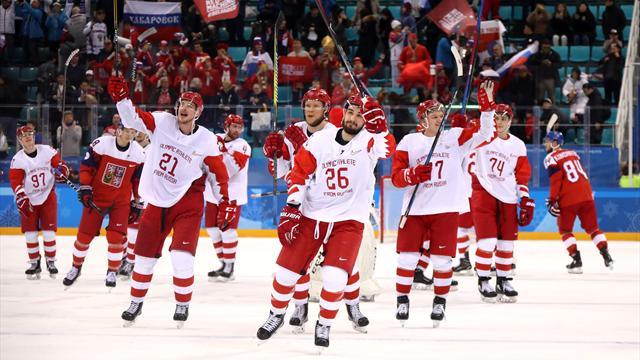 Хоккейный финал Россия – Германия и женский марафон. Медальные события заключительного дня Игр