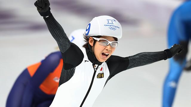 Tagaki and Seung-Hoon claim first ever Olympic Mass Start titles