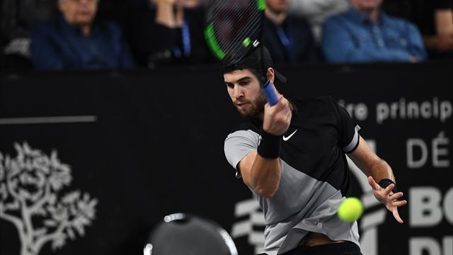 Русский  теннисист Хачанов одержал победу  турнир ATP вМарселе