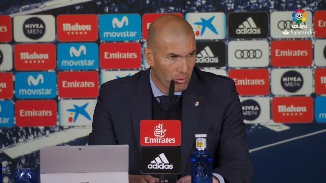"""25e j. - Zidane : """"Benzema a toujours démontré qu'il avait du caractère"""""""