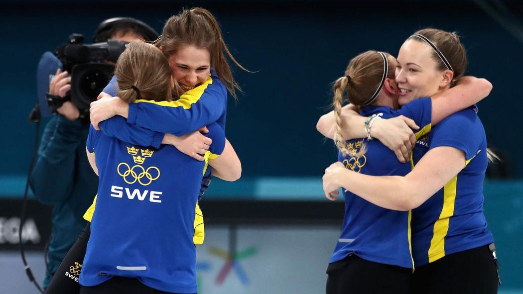 Curling Bei Olympia 2018 Schweden Holt Gold Bei Den Frauen