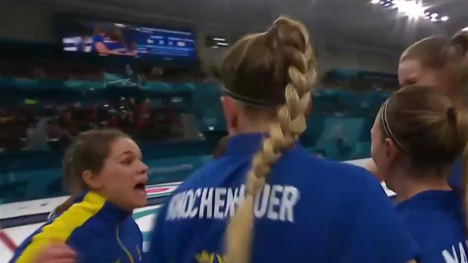 Jetzt Brechen Die Dämme Schweden Krönt Sich Zum Olympiasieger