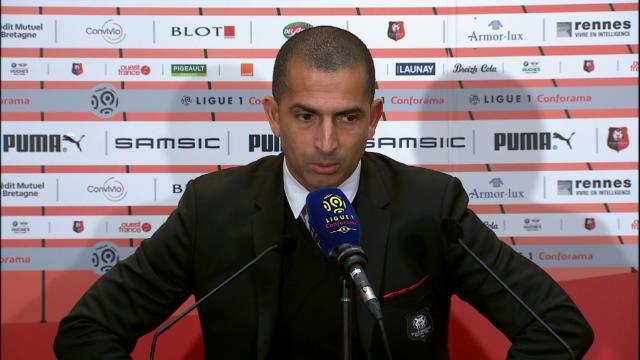 """27e j. - Lamouchi : """"Fier de l'attitude de mes joueurs"""""""