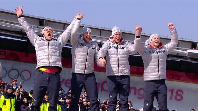 PyeongChang2018 Kış Olimpiyatları: Erkekler dörtlü bobsled