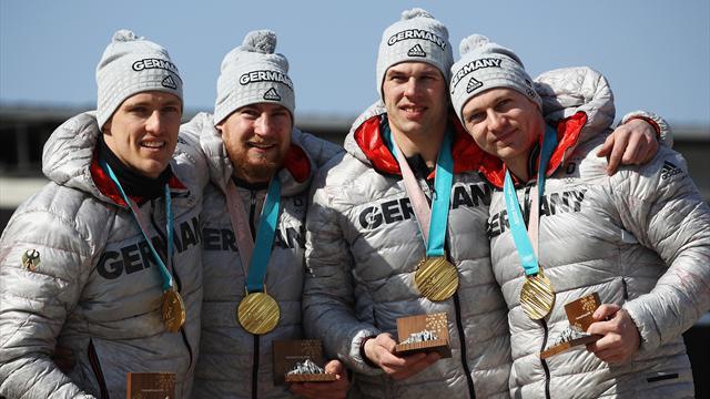 Германия взяла золото в соревнованиях четверок, Россия – 15-я