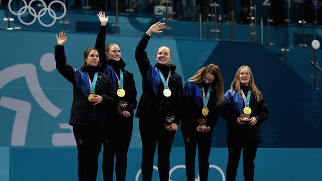 Шведки завоевали золотые медали в керлинге, Южная Корея – вторая